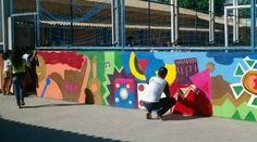 Lugar de grafite é na escola SIM!