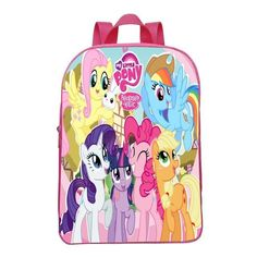 Mr.Weng Twilight Beauty Printed Canvas Backpack For Girl and Children
