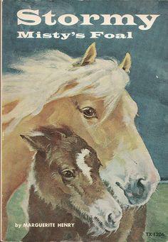 Stormy, Misty's Foal by Calsidyrose, via Flickr