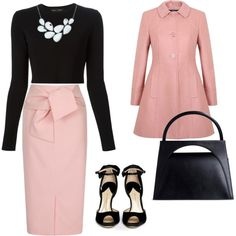 A fashion look from February 2015 featuring black crop top, Miss Selfridge and midi skirt. Browse and shop related looks.