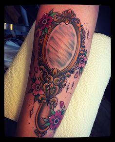 My new mirror tattoo