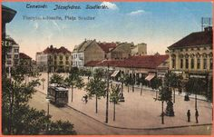 Timisoara - Iosefin ; Piata Scudier - 1923