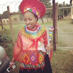 Follow #Professionalimage ~ Zulu bride
