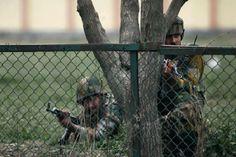 Fresh firing between militants, Army troops in Pampore