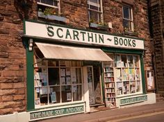 Set in the picturesque village of Cromford, Derbyshire, Scarthin Books has been running for 40 years, selling new, second hand and antiquarian books. About Uk, All About Time, Tea And Books, Derbyshire, Book Collection, Novels, Cool Stuff, Random Stuff, Book Shops