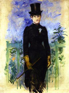 The Horsewoman (Édouard Manet - 1882)
