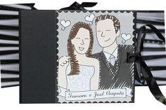 Lembranças de um Casamento = Maria Papel + Carinhas Personalizadas by Maria Papel, via Flickr