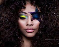Disco makeup