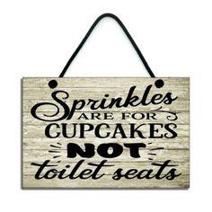 Funny Bathroom Decor, Bathroom Humor, Bathroom Signs, Bathroom Interior, Small Bathroom, Funny Toilet Signs, Funny Wood Signs, Diy Wood Signs, Funny Welcome Signs