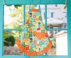 Owls, deer, rabbits, oh my... Tangerine Forest Reversible Child's Full by AustinWayneDesigns, $40.00