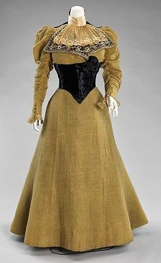 1896-1899; 1900 Ball Gown  Driscoll both The Metropolitan Museum of Art
