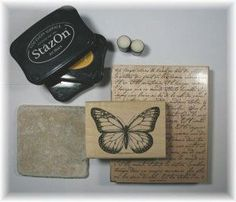 (SCS) Tile Coasters - simple but so many complicating comments.  #1 - need porous tile but do they sell NON-distressed kind?  #2 - who knows what kind of ink actually doesn't run #3 - cork sheet on bottom should be fine, never got that much wetness that it leaked all thru, though 4 feet prob cheaper.