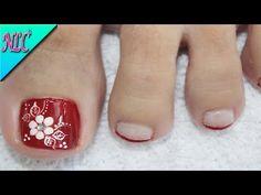 Toe Nail Art, Toe Nails, French Nails, Toe Nail Flower Designs, Manicure And Pedicure, Wedding Nails, Diana, Eyeliner, Google