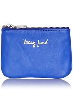 :) love this! Wish I had it... And it was filled! :D. Rebecca Minkoff Cory Pouch-Vacay Fund | Piperlime