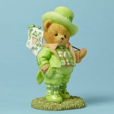 Cherished Teddies St. Paddy's Day Wishes