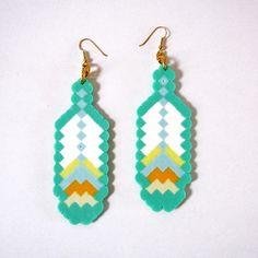 8-Bit Feather Fantasy Earrings