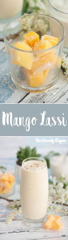 This vegan mango lassi with cardamom is a nutritious way to hydrate yourself during hot summer months. It's a great treat on its own, but it also pairs well with spicy food.