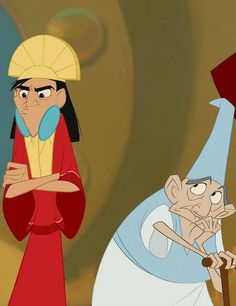The Emperor's New Groove. You threw off my groove! Lol