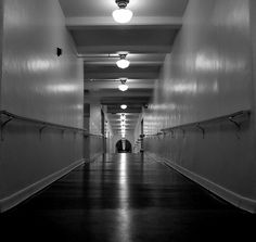 The venerable halls of Camarillo State Mental Hospital