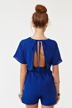 Back Out Romper. DOPE! Thanks Jen this site rocks!