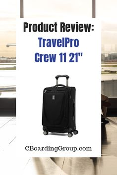 99b65595c07 Product Review TravelPro Crew 11 21 Inch - for the work trip  #travelproducts #suitcase