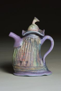 "Susan Thomas - ""Teapot"" It looks like a woman saying ""oh no you didn't!"""
