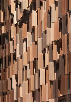 Tertiary Building U15 in Milan, Italy by Cino Zucchi Architetti. via http://ift.tt/1lMo6LK