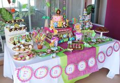 Baby Jungle Animals Birthday Party Ideas | Photo 11 of 11 | Catch My Party
