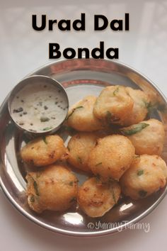 Urad Dal Bonda Recipe - Ulundu Bonda Recipe - Easy Snack Recipes