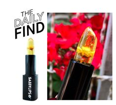 """Daily Find: Sassy Lips Lipstick"" by polyvore-editorial ❤ liked on Polyvore featuring beauty, DailyFind and beautyfind"