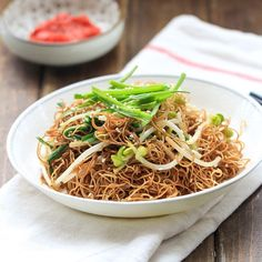 Soy Sauce Pan Fried Noodles (Cantonese Chow Mein) – China Sichuan Food