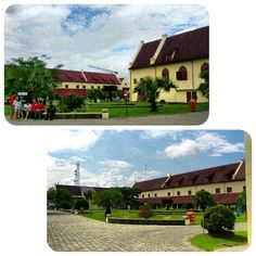 This place called Fort Rotterdam. It is located in Makassar, Indonesia. So beautiful.  For more info, kindly visit my blog:  dyahayupuspi.blogspot.com. thank you.
