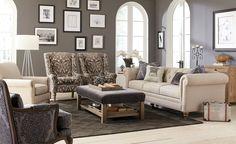 Craftmaster Living Room Sofa 743254 - Tyndall Furniture Galleries, INC - Charlotte, North Carolina