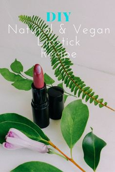 How to Make Your Own Natural Lipstick [ + Vegan Lipstick Recipe ]