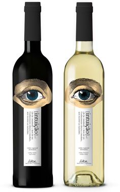 intuição wine by André Moreira.  I've got my eye on you for #winewednesday #packaging