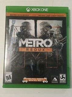 nice Metro Redux (Microsoft Xbox One 2014) - For Sale Check more at http://shipperscentral.com/wp/product/metro-redux-microsoft-xbox-one-2014-for-sale/