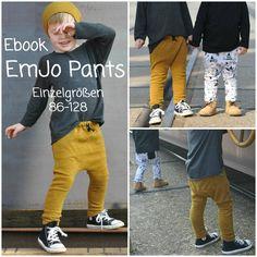 Nähanleitungen Kind - Ebook EmJo Pants - Hose 86-128 - Schnitt/Anleitung - ein Designerstück von ohjunge bei DaWanda
