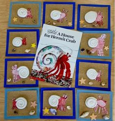 A House for Hermit Crab-1st Grade-Art and Literacy-Art with Mr. Giannetto blog
