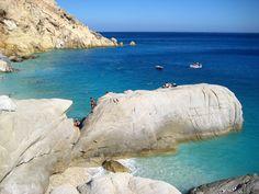 Ikaria Seyheles Ikaria Greece, Exotic Beaches, My Heritage, Future Travel, Crete, The Good Place, Beautiful Places, Waves, Island