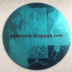 ♥ Placa BP-04 de la web Born Pretty Store -> www.bornprettystore.com