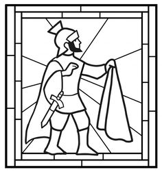 Template for a window or coloring page for Sankt Martin Hl Martin, Diy Halloween Dekoration, Jesus Is Life, Kids Class, Art For Kids, Life Is Good, Coloring Pages, Techno, Saints