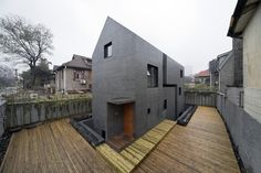 """Concrete Slit House"" in Jiangsu Province, China by AZL architects"