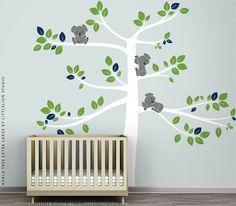 Koala Tree Extra Large Wall Decal by LittleLion by TheKoalaStore, $149.00