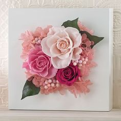 We put together a selection of inspiring spring craft ideas to welcome Spring into your home. Paper Flower Decor, Tissue Paper Flowers, Clay Flowers, Flower Crafts, Flower Decorations, Dried Flowers, Flower Canvas, Flower Frame, Flower Boxes