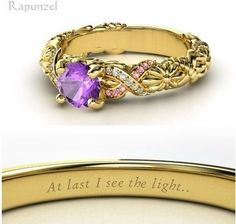 Tangled (wedding ring) I would totally wear this, but on my right hand.