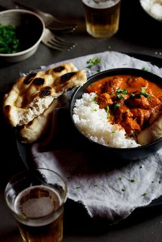 Butter Chicken curry | simply-delicious.co.za #recipe #dinner