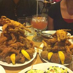 fried seafood @ deanie's in new orleans