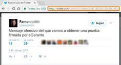Artículo sobre Testigos online en @osiseguridad   y la utilidad de eG Web y eG Mail. Os suenan ¿verdad? :-) https://www.osi.es/es/actualidad/blog/2017/03/09/testigos-online-y-obtencion-de-pruebas-te-explicamos-su-utilidad