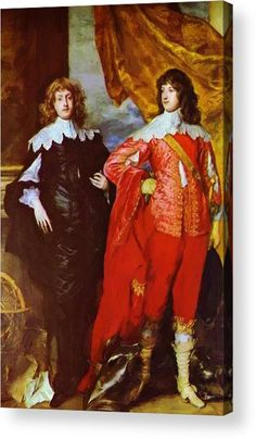 Portrait of George Digby, Earl of Bristol and William Russell, Duke of Bedford, 1637 by Sir Anthony van Dyck (Flemish, Anthony Van Dyck, Sir Anthony, 17th Century Clothing, 17th Century Fashion, William Russell, Peter Paul Rubens, Historical Costume, Historical Clothing, British History