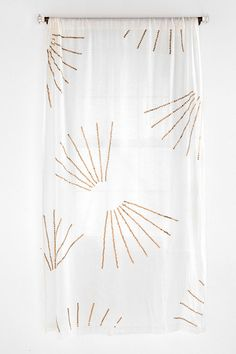 Brass Sequin Curtain  #UrbanOutfitters